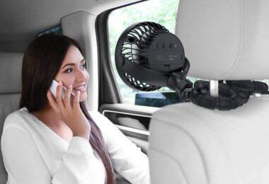 Air Circulator Fan With Flexible Tripods