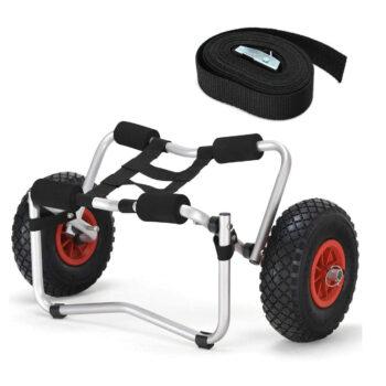 HomE Rich Aluminum Kayak Cart