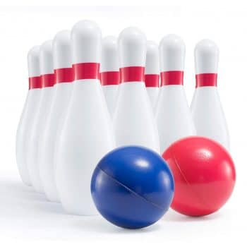 Prextex Kids Foam Bowling Set