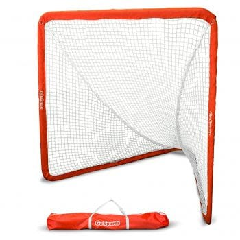 GoSports Regulation Portable 6' x 6' Lacrosse Net for Adults and Kids