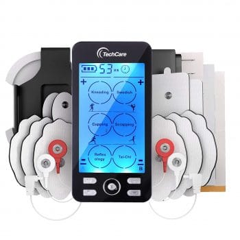 TechCare Electronic Pulse Massager Machine [New Model]