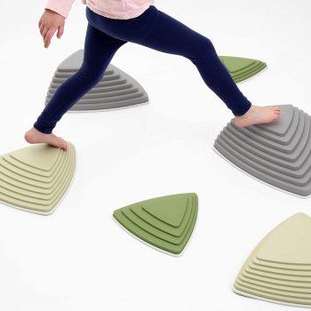JumpOff Jo RockerSteady Balance Stepping Stones