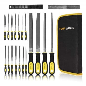 FOUR UNCLES 20Pcs Hand File Set