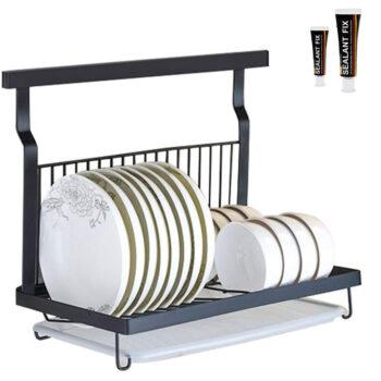 HOMESPON Wall Mount Dish Drying Rack