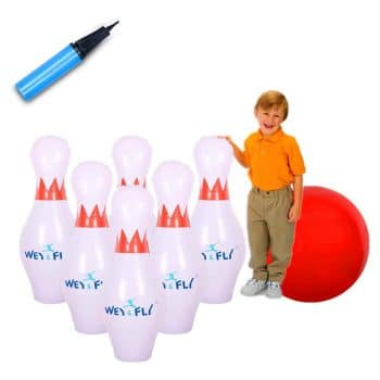 WEY&FLY Giant Inflatable Bowling Set