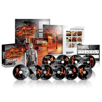 ZONEV 60 Days Insanity 30 Minutes DVD Workout