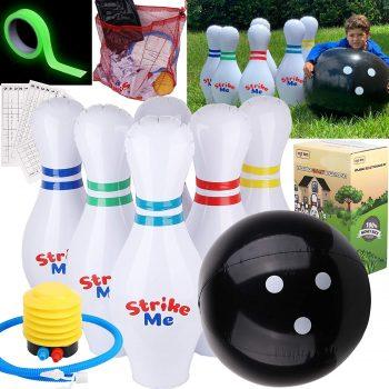 Giants Inflatable Kids Bowling Set