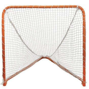 STX Lacrosse Folding 4 x 4-Feet Orange Backyard Lacrosse Goal