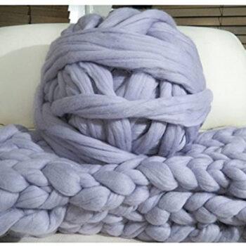 100% Non-Mulesed Chunky Wool Yarn Big chunky Yarn