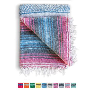 Benevolence LA Mexican Hand Woven Picnic Blanket