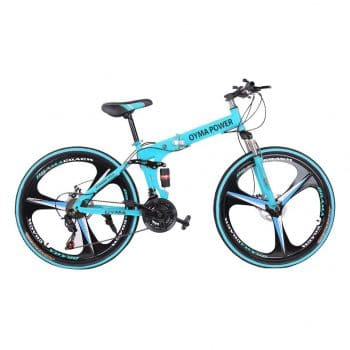 LODDD 26-Inches Folding Mountain Bike