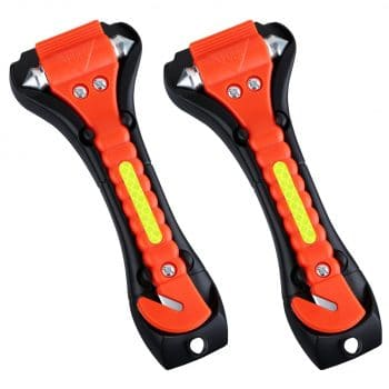 VicTsing 2 Pack Car Safety Hammer Emergency Escape Tool