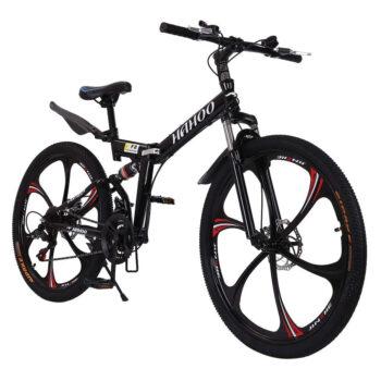 BINMUO 26-Inches Outroad Folding Mountain Bike