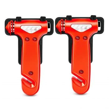 GOOACC Seatbelt Cutter Auto Window Breaker Emergency Escape Tool