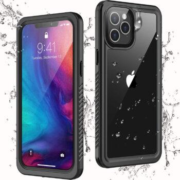 Temdan Waterproof Shock-Proof iPhone 12 Pro Max Case