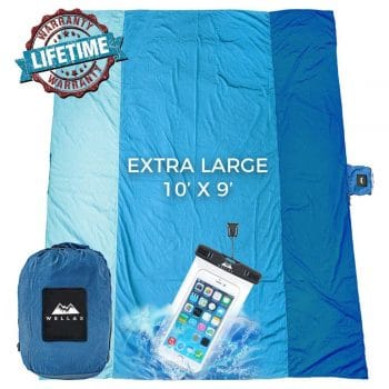 Wellax Durable Camping and Hiking Picnic Blanket