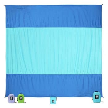 Wekapo Extra Large Quick Drying Beach Blanket