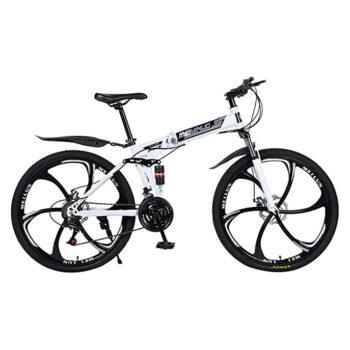 Ninasill-1 26-Inches Folding Mountain Bike