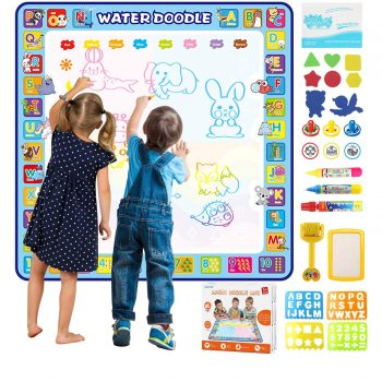 Tobeape 100 by 100 Extra Large Doodle Mat