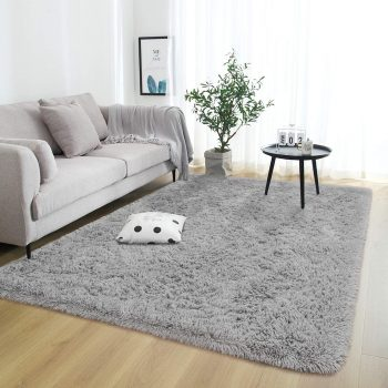 Rostyle Grey Area Rug