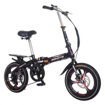 Funic Home Décor Adult 20-Inches Folding Mountain Bike