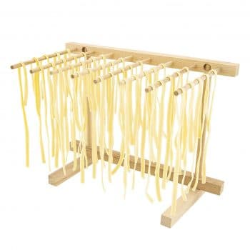 Collapsible Wooden Pasta Drying Rack