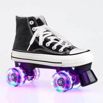 Gets Roller Skates