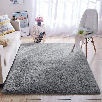 Wondo Grey Area Rug