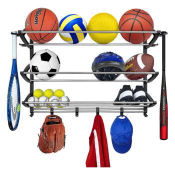 Lynk Sports Basketball Rack