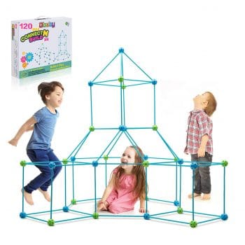 Obuby Kids 120 Pieces Fort Building Kit