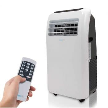 SereneLife 10,000 4-in-1 Portable Dehumidifier Air Conditioner for Rooms Up to 350 Sq.