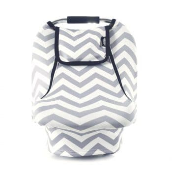 Stretchy Chevron Baby Car Seat Cover