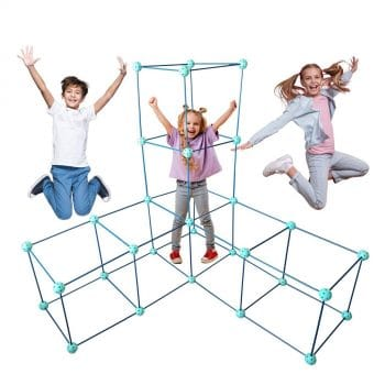 FORTSPLAY 92 Pieces Fort Building Kit