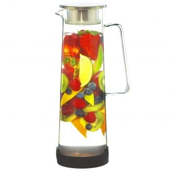GROSCHE Hand-Made Glass Water Infusion Pitchers and Sangria Pitcher