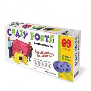Crazy Forts 69 Pieces Purple Fort Building Kit