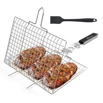 WolfWise Portable Grilling Basket