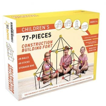 Matchaccino 77 Pieces Fort Building Kit