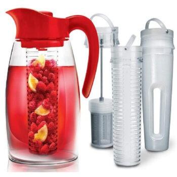 Primula Beverage System – Includes Fruit, Tea Infusion Chill Core, 2.9 Quart