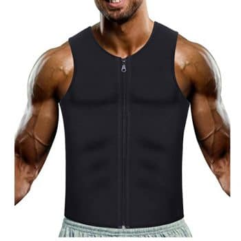 W-JACK Men Neoprene Sweat Sauna Vest