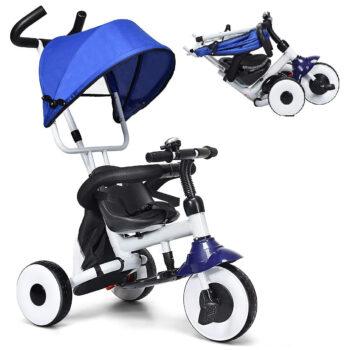 Baby Joy Kids Folding Tricycle