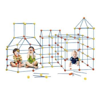 EIH Fort Building Kit for Boys & Girls- 158 pcs