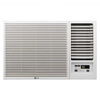 LG LW8016HR 7,500 3,850 BTU Window-Mounted Air Conditioner, White