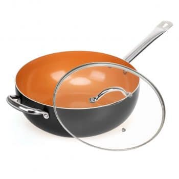 SHINEURI Copper Nonstick Frying Pan