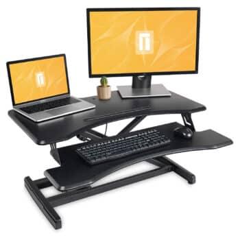 FEZIBO Standing Desk Converter, Black