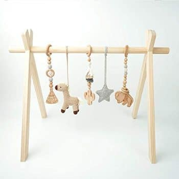 Mali Wear Wooden Play Gym for Baby