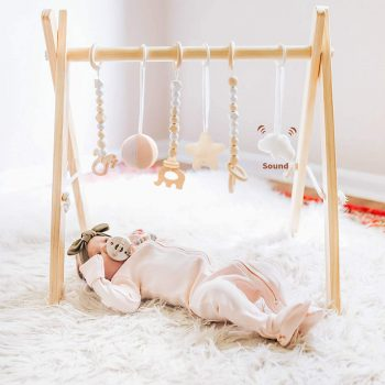 Funny Supply Wooden Baby Gym
