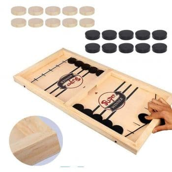 Inscape Data Fast Sling Puck Game (22.7 in x 12.5 in)
