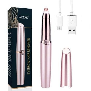 Reazeal Store Rechargeable Eyebrow Hair Remover