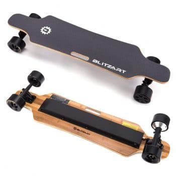 B Blitzart 38 Hurricane Longboard Electric Skateboard