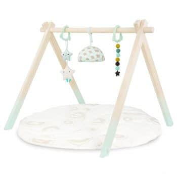 B. toys – Wooden Baby Play Gym